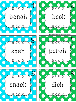 Forming Plural Nouns with -S or -ES Word Sort