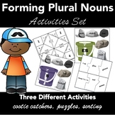 Forming Plurals   3 COMPLETE CENTER ACTIVITIES