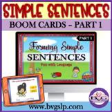 Forming Simple Sentences PART 1 | Helping Verb Grammar BOO
