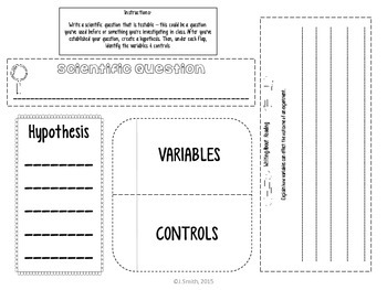 Hypothesis and Experiment Reading Comprehension Interactive Notebook
