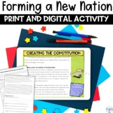 Forming a New Nation with the Constitution Nonfiction Arti