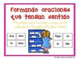 Forming sentences that make sense in Spanish (Formando oraciones)