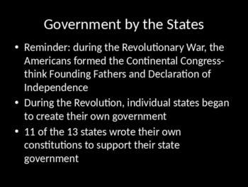 Forming the Constitution Powerpoint