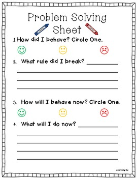 Forms For Elementary Classroom