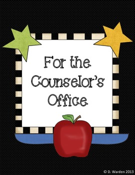 Forms & More for the Counselor's Office