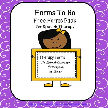 Forms To Go for Speech Therapy