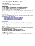 Forms and Lessons to teach Scientific Method and Fair Test