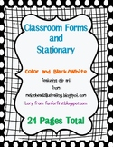 Forms and Stationery featuring Melonheadz Clip Art