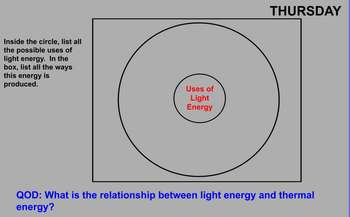 Forms and Uses of Energy Review