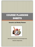 Forms for High School Course Planning