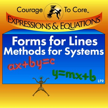Forms for Lines and Methods for Systems (LF9): 8.EE.8, HSA
