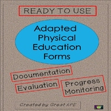 Forms for Teachers: Adapted Physical Education