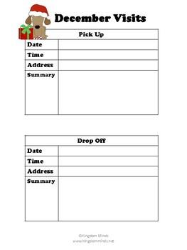 Forms for Visit Documentation