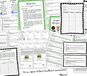 Forms for parents - Authorization, information, needs, spe