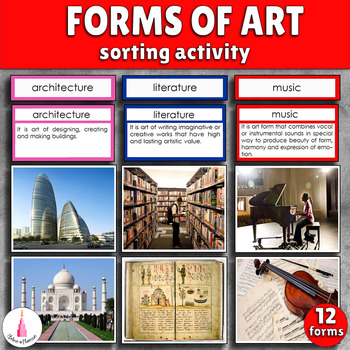 Forms of Art Sorting Cards