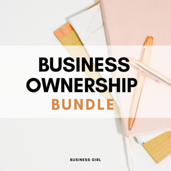 Forms of Business Ownership Bundle