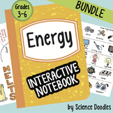 Doodle Notes - Energy Interactive Notebook BUNDLE by Science Doodles