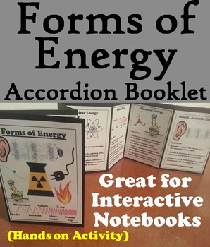 The Forms of Energy Foldable