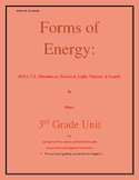Forms of Energy 3rd Grade Unit in Music