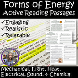 Forms of Energy Active Reading Passages