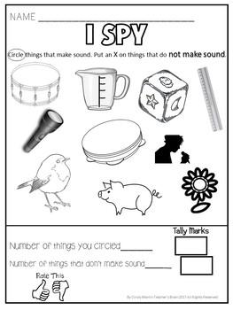 Forms of Energy Activities (Sound Heat Light) FREEBIE