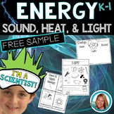 Forms of Energy Activities (Sound Heat Light) FREEBIE