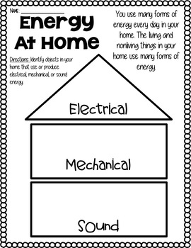 Forms of Energy Activity Bundle