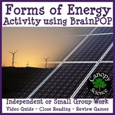 Forms of Energy Activity using BrainPOP