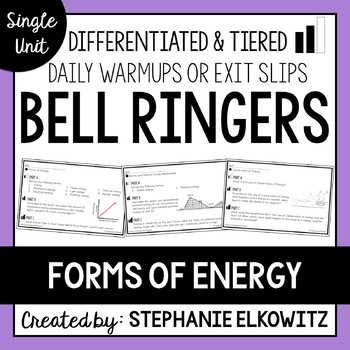 Forms of Energy Bell Ringers