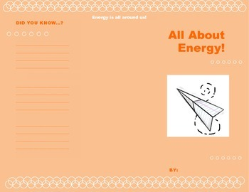 Forms of Energy Brochure