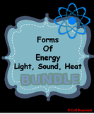 Forms of Energy Bundle (Light, Sound, Heat)