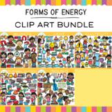 Forms of Energy Clip Art Bundle {Science Clip Art