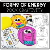 Forms of Energy Flip Book Craftivity, Light, Heat, Sound,