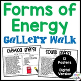 Forms of Energy Gallery Walk   Distance Learning