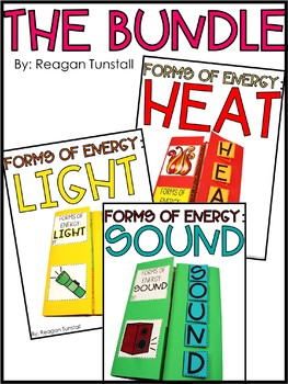 Forms of energy heat light sound