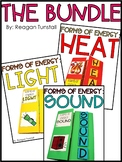 Forms of Energy: Heat, Light, Sound Bundle
