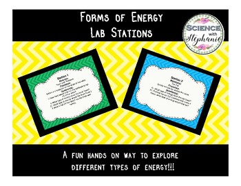 Forms of Energy Lab Stations