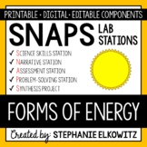 Forms of Energy Lab Stations Activity