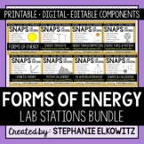 Forms of Energy Lab Stations Bundle