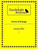 Forms of Energy - Lesson Plan