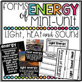 Forms of Energy Mini-Unit