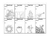 Forms of Energy Notebooking Activity