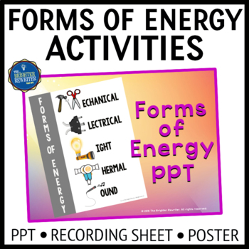 Forms of Energy PPT with Extras