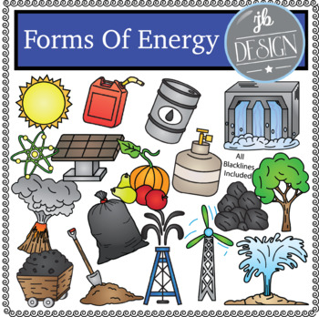 Forms of Energy Pack (JB Design Clip Art for Personal or Commercial Use)