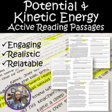 Forms of Energy (Potential and Kinetic) Active Reading Passages