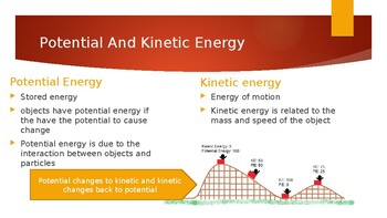 Forms of Energy Power Point