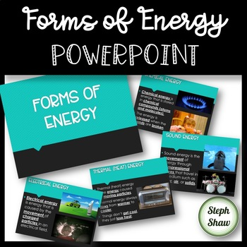 Forms of Energy PowerPoint - ANIMATIONS AND GIFS!