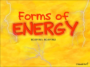 Forms of Energy Presentation and Interactive Student Notes