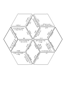 Forms of Energy Vocabulary Puzzle