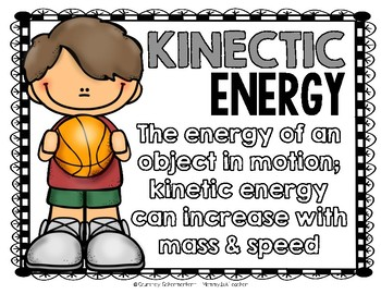Forms of Energy Resource Guide {Potential/Kinetic Energy}